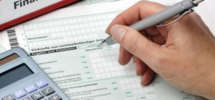 Vereinfachte Steuererklärung